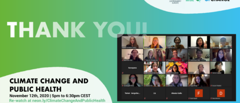 Online Panel Discussion on Climate Change and Public Health